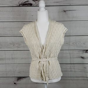 Moth by Anthro• M sweater cardigan sleeveless vest